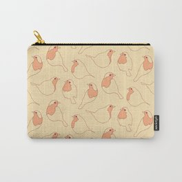Robin's Egg in Yellow Carry-All Pouch