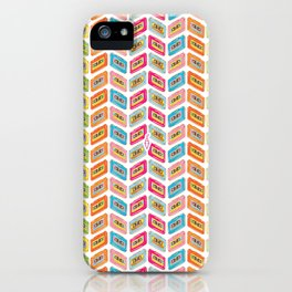 Music tape color fantasy iPhone Case
