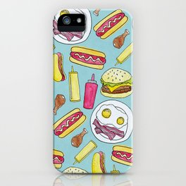 Meat Girl iPhone Case