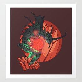 Eva. Art Print