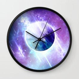 Star Drops Wall Clock