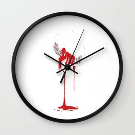 Iron and Blood Wall Clock