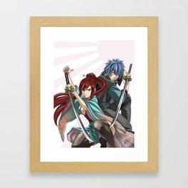 Swordsmen Framed Art Print