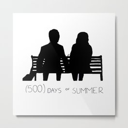 (500) Days of Summer Metal Print