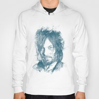 daryl dixon Hoodies featuring DARYL DIXON by Chadlonius