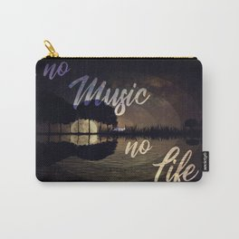 no music - no life Carry-All Pouch