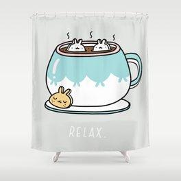 Marshmalunny Shower Curtain