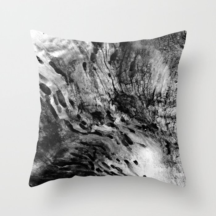 Wood Textures Throw Pillow