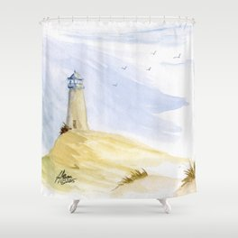 Lighthouse Impressions IV Shower Curtain