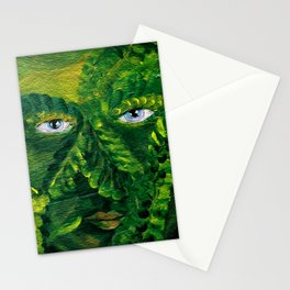 Garden Guardian Hurricane Gnome Stationery Cards