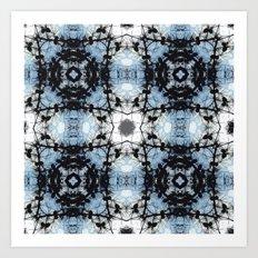 Internal Kaleidoscopic Daze- 3 Art Print
