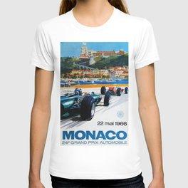 Gran Prix de Monaco, 1966, original vintage poster T-shirt