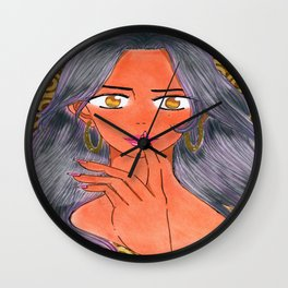 Aiesha Tonie's 1st Investigation Wall Clock