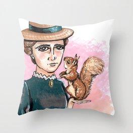 Beatrix Potter Throw Pillow