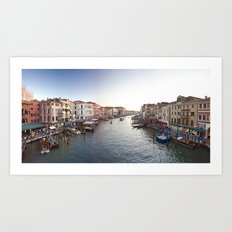 italy - venice - widescreen_555-557 Art Print