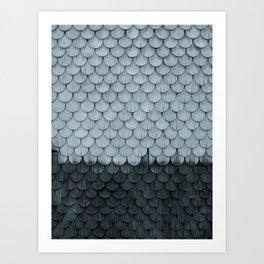 SHELTER / slate Art Print