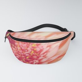 Pink Germini Close Up 5 Fanny Pack