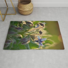 The Beauty of Weeds Rug