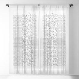 Furr Division White Sheer Curtain