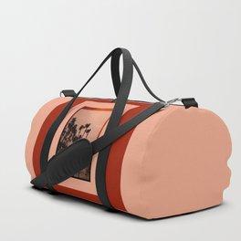 Sepia Palms Duffle Bag