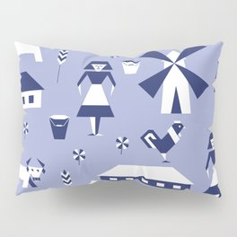 Farm. Seamless pattern. Pillow Sham
