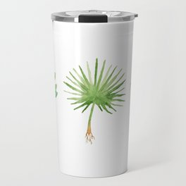 Plant Trio Watercolor Travel Mug