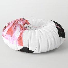 hair in rose Floor Pillow