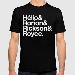 Jiu-Jitsu Gracie Family Names T-shirt