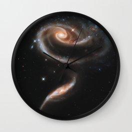Galactic Rose Wall Clock