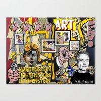 lichtenstein Canvas Prints featuring Lichtenstein by Phillip J. Speciale