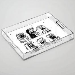 GameOver Acrylic Tray