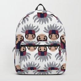 Iconic Headdresses - East Kalimantan (Borneo) Backpack