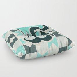 Letter F Floor Pillow