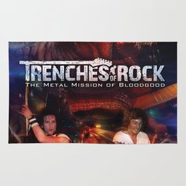 Trenches of Rock: Official Movie Poster / Art / Mugs / Phone Cases, etc. Rug