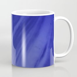 Blurred Royal Blue Wave Trajectory Coffee Mug