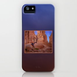 Tree in Bryce Canyon iPhone Case