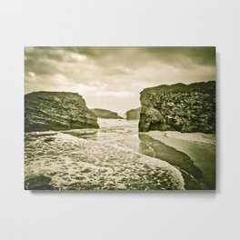 The Beach Of The Cathedrals Metal Print