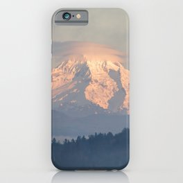 Mt Hood Sunset iPhone Case
