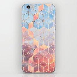 Magic Sky Cubes iPhone Skin