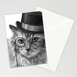 Monsieur Mack Stationery Cards