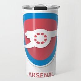 Arsenal Smooth Logo Travel Mug