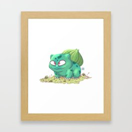 No. 001 Framed Art Print