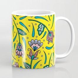 Botanicals Yellow Coffee Mug
