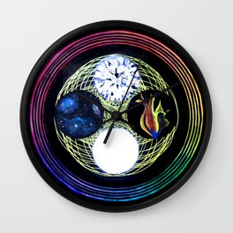 Space and Light Wall Clock