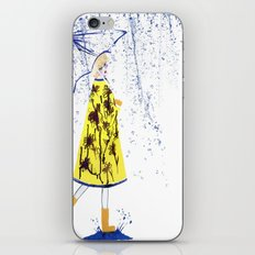 Singin' in the rain iPhone & iPod Skin