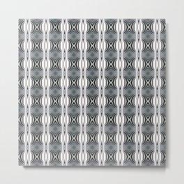 Interference - Optical Series 001 Metal Print