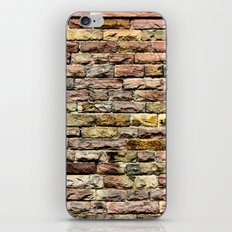 Pink bricks iPhone & iPod Skin