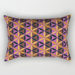 Flower of Life Pattern 13 Rectangular Pillow