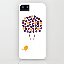 Blooming Hearts iPhone Case