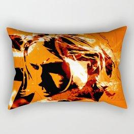It´s better to burn out... Rectangular Pillow